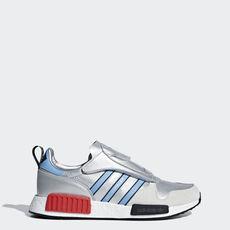 918573023c2f7 adidas - MicropacerxR1 Shoes Silver Metallic / Light Blue / Cloud White  G26778 ...
